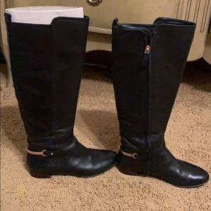 Tory Burch Jess Leather riding Boots